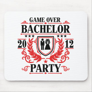 bachelor party game over 2012 mouse pad