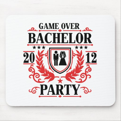 bachelor party game over 2012 mouse pads