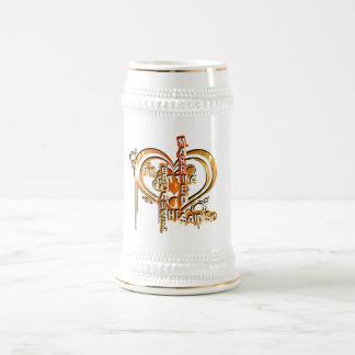 Bachelor party grooms beer stein coffee mug