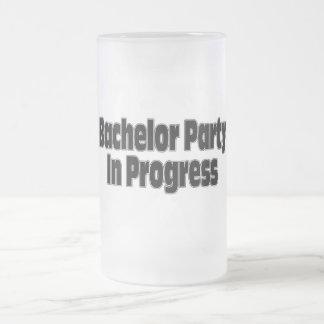 Bachelor Party In Progress (Blk) Coffee Mug