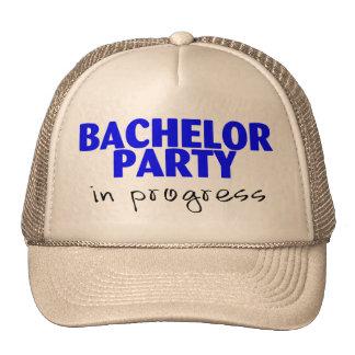 Bachelor Party In Progress (Blu) Hat