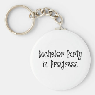 Bachelor Party In Progress Key Chains