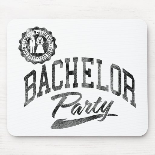 Bachelor Party Mouse Pad