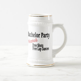Bachelor Party Beer Steins