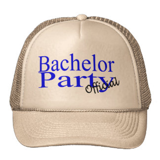 Bachelor Party (Official) Cap