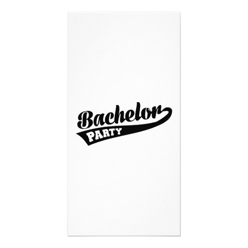 Bachelor Party Photo Cards