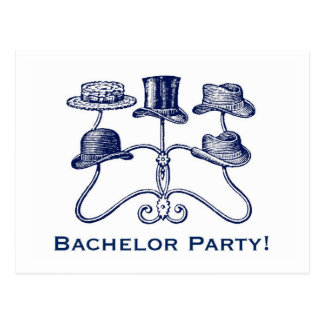 Bachelor Party Postcard
