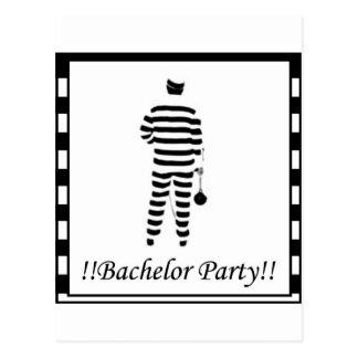 Bachelor party - Prison Man Postcard