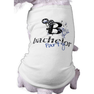 Bachelor Party Shirt Sleeveless Dog Shirt