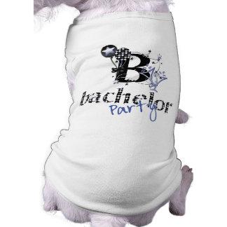 Bachelor Party Shirt Sleeveless Dog Shirt