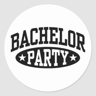 Bachelor Party Stickers