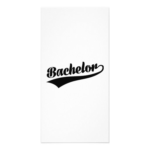 Bachelor Picture Card