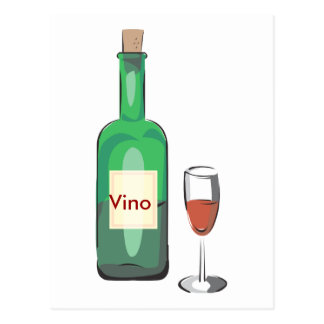 Bachelor Wine Party Postcard