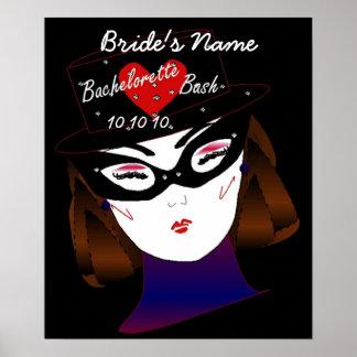 Bachelorette Bash I Poster - Customizable Poster