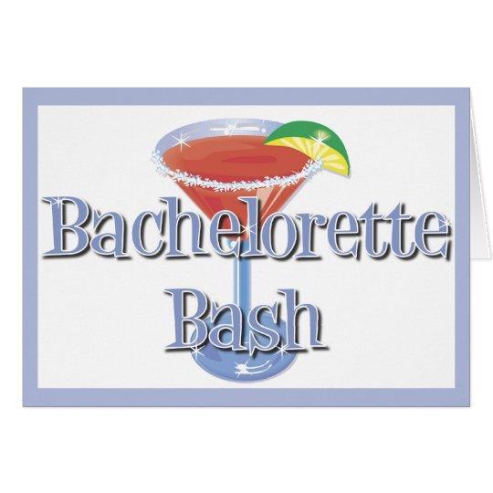 Bachelorette Bash invitations