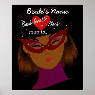 Bachelorette Bash Poster - Customizable Posters