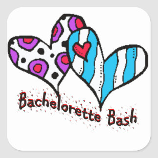 Bachelorette Bash Sticker
