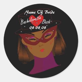 """Bachelorette Bash"" Sticker - Customizable Stickers"