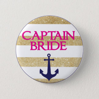 Bachelorette Button- Last Sail Before The Veil 6 Cm Round Badge