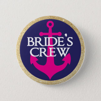 Bachelorette Button- Last Sail Before The Veil 6 Cm Round Badge