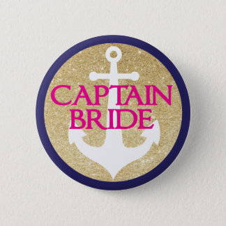 Bachelorette Button- Last Swing Before Ring 6 Cm Round Badge