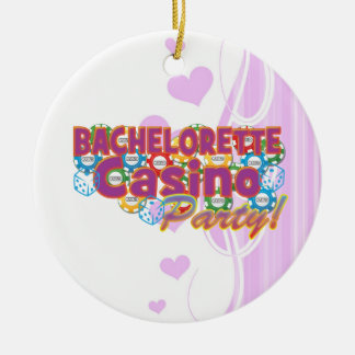 bachelorette casino party wedding bridal shower christmas tree ornaments
