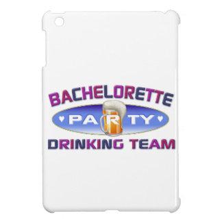 bachelorette drinking team party bridal wedding iPad mini case