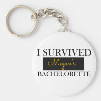 Bachelorette Favour Custom Keychain