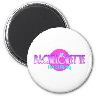 Bachelorette Final Fling 6 Cm Round Magnet