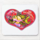 Bachelorette  Hen Party Fish Mousepads