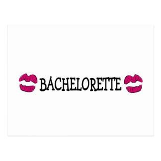 Bachelorette Kisses Postcard