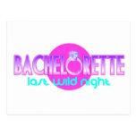 Bachelorette Last Wild Night Postcard