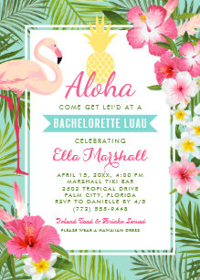 hawaii party invitations announcements zazzle uk