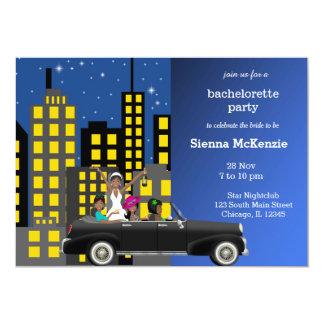 Bachelorette party 13 cm x 18 cm invitation card