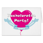 Bachelorette party 2008 card