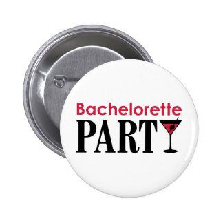 Bachelorette party 6 cm round badge