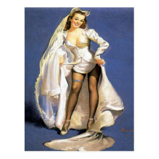 bachelorette party,bridal shower,hen party.... postcard