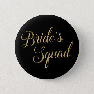 Bachelorette Party Bride's Squad 6 Cm Round Badge
