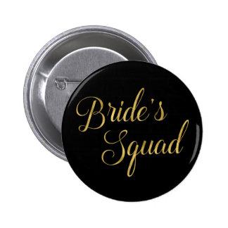 Bachelorette Party Bride's Squad 6 Cm Round Badge