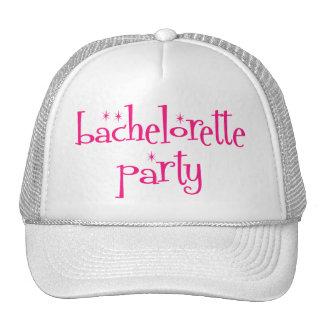 Bachelorette Party Cap Mesh Hat