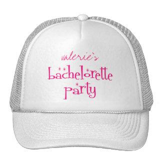 Bachelorette Party Cap Trucker Hat