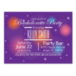 Bachelorette party design card