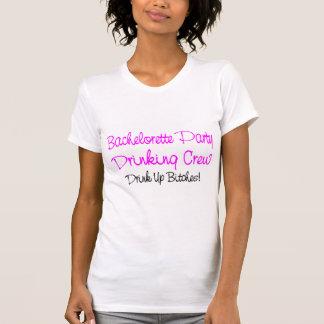 Bachelorette Party Drinking Crew T-Shirt