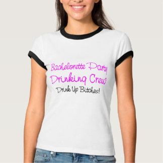 Bachelorette Party Drinking Crew Tshirts