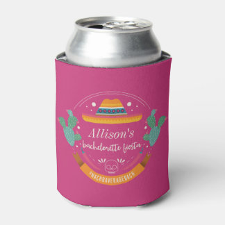 Bachelorette Party Favor Fiesta Can Cooler