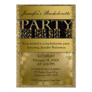 Bachelorette Party | Fun Glamour 13 Cm X 18 Cm Invitation Card