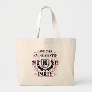 Bachelorette Party Game Over 2012 Jumbo Tote Bag