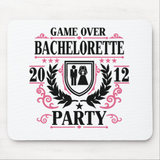 Bachelorette Party Game Over 2012 Mouse Pad