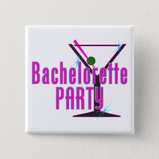 Bachelorette Party Gift 15 Cm Square Badge