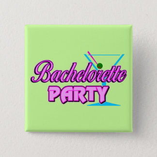 Bachelorette Party Gift 15 Cm Square Badge
